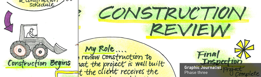 Graphic Journalist - phase 3 - Construction Review